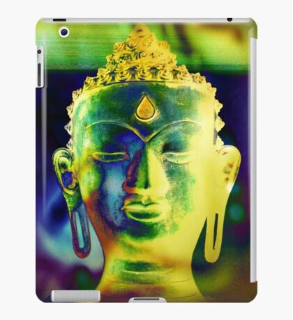 5048 Buddha head iPad Case/Skin