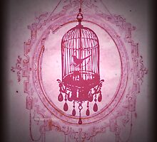 Caged in Pink by rhianana