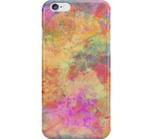 Happiness Abstract Painting iPhone Case/Skin