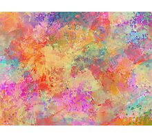 Happiness Abstract Painting Photographic Print