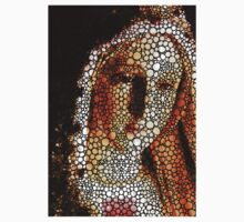 Mary - Holy Mother By Sharon Cummings One Piece - Short Sleeve