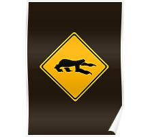Sloth Crossing Poster