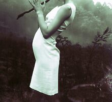 flute stick witch by aglaia b