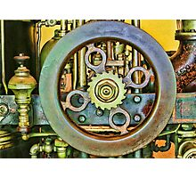 THE GEAR WHEEL Photographic Print