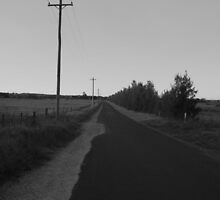 Lonely Road by Graham Bain