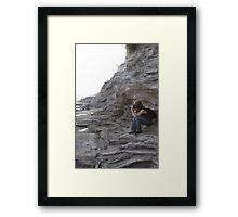 Photographer at Work Framed Print