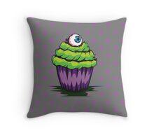 Eyeball Cupcake Throw Pillow