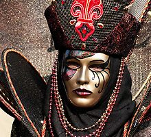 Carnival Mask 08 by Luciano Fortini