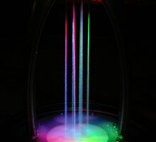 Rainbow Fountain by ShootinMickey