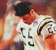 Junior Seau - Chargers - NFL by kyddco