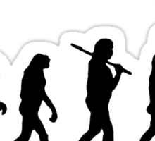 Evolution? Sticker