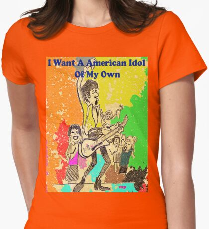 American Idol Womens Fitted T-Shirt
