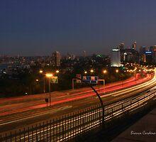 The peak hour rush home  by Bianca  Cardenas