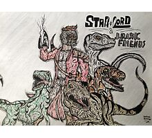 Star Lord & Jurassic Friends Photographic Print