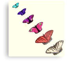 Butterfly stencils  Metal Print