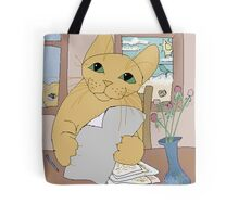 IS THAT CAT A WRITER? Tote Bag