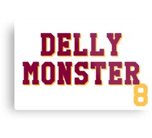 Delly Monster Metal Print