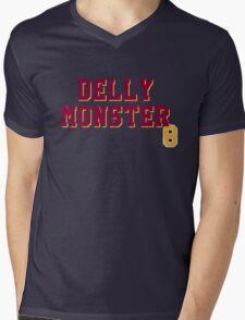 Delly Monster Mens V-Neck T-Shirt