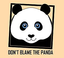 DON'T BLAME THE PANDA by Jean Gregory  Evans