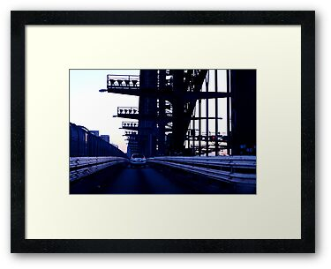 Death Star Run - Sydney Harbour Bridge by moonlover