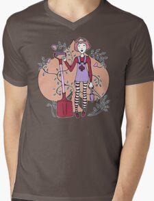 Queen of Spades Mens V-Neck T-Shirt