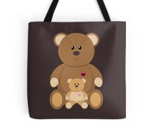 TWO TEDDY BEARS Tote Bag