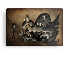 Funny Monsters! Metal Print
