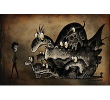 Funny Monsters! Photographic Print