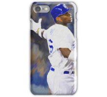 Dodgers All Star Yasiel Puig iPhone Case/Skin