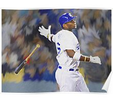 Dodgers All Star Yasiel Puig Poster