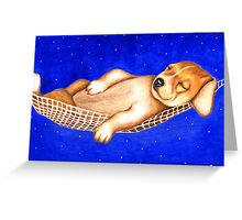 Sleeping under the stars 763 views Greeting Card