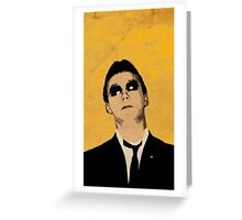 The Jam, Rick Buckler-2 Greeting Card