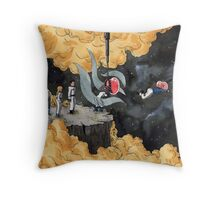 How astronauts are made Throw Pillow