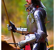 Perfect Knight Photographic Print