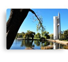 National Carillion & Lake Burley Griffin. Canvas Print