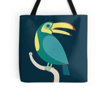 TOUCAN WITH RED NAILS Tote Bag