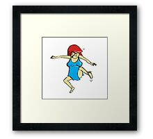 character 2 Framed Print