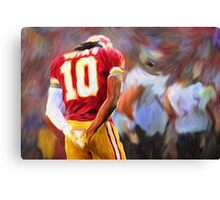 RG3 - NFL - Washington Redskins Canvas Print