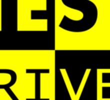 Crash Test Driven Sticker