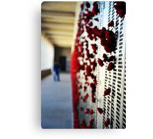 Wall of Honour, Australian War Memorial. Canvas Print