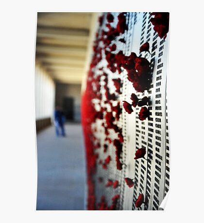 Wall of Honour, Australian War Memorial. Poster