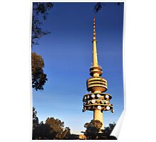 Telstra Tower, Black Mountain Canberra Poster