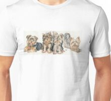Yorkshire Terrier Puppies Unisex T-Shirt
