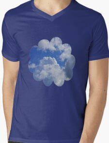 Cloudy Day Mens V-Neck T-Shirt