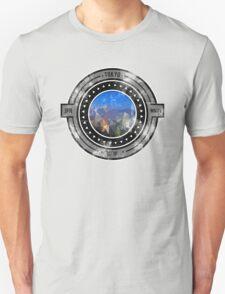 Distressed Geometric Tokyo Cityscape  Unisex T-Shirt
