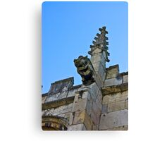 Gargoyle - St Olaves, Marygate,York Canvas Print