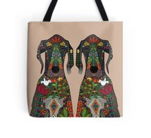 Great Dane love beige Tote Bag