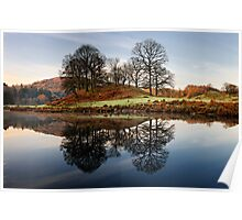 Morning Reflections - Elterwater Poster