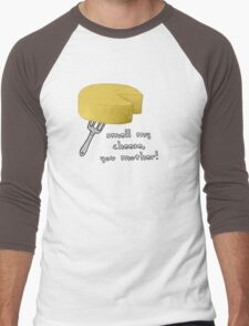 Smell my cheese you mother! Men's Baseball ¾ T-Shirt