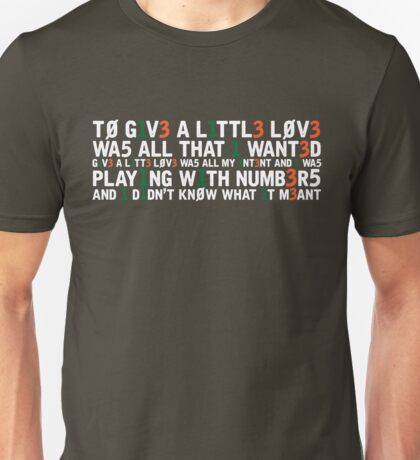 Molly Sterling - Playing with Numbers [Eurovision] Unisex T-Shirt